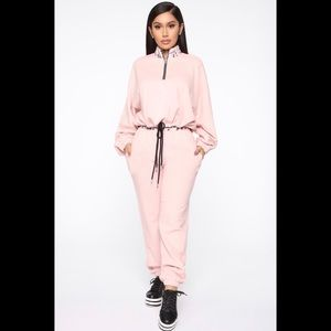Fashion Nova Pink Jogger Set